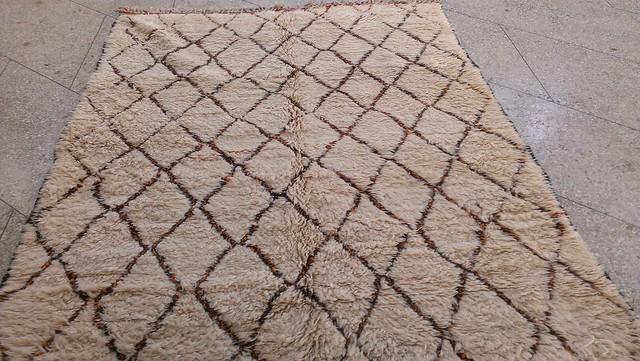 tapis beni ouarain marocain