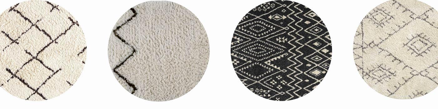 tapis berbere rond