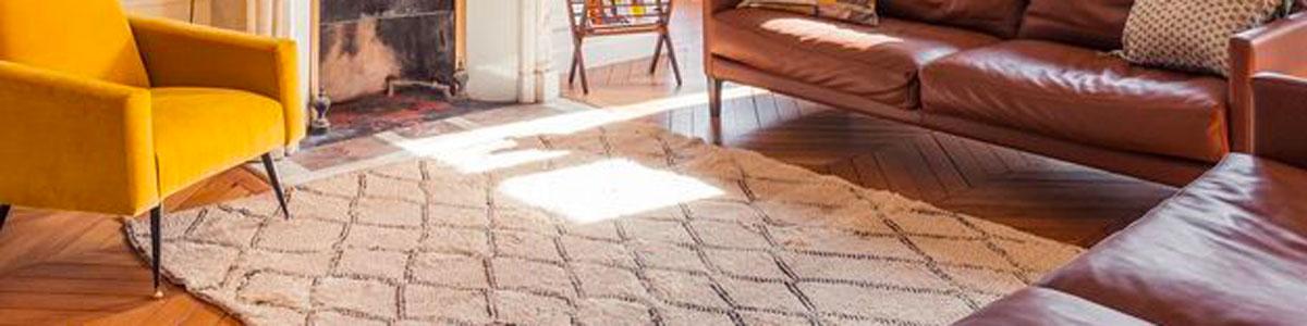 tapis berbere salle à manger
